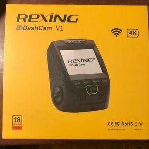 REXING Dashcam V1 4k